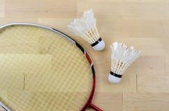 Badminton kant i shuttlecock Fotografia Royalty Free
