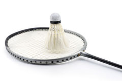 Badminton kant i stary shuttlecock Zdjęcie Stock