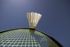Badminton-Leistung Stockfotografie