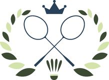 Badminton Logo Stock Images