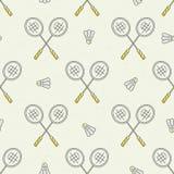 Badminton Pattern Royalty Free Stock Image