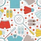 Badminton Pattern Stock Photos
