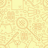 Badminton Pattern Stock Images
