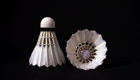 Badminton piórka wahadłowowie zdjęcie stock