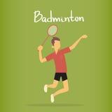 Badminton Player Sportsman Sport Competition Stock Photos