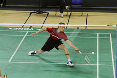 Badminton in portugal. Victor Portuguese International Championship Kenn Lim MAS, May 1, 2010 in Portugal Stock Photos