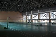 Badminton practice fields Royalty Free Stock Image