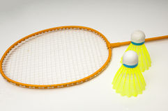 Badminton racket Stock Image
