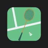 Badminton racket Icon Stock Photos