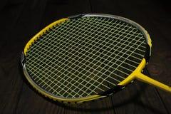 Badminton racket Stock Photos