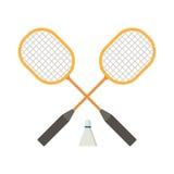 Badminton Rackets Stock Photos