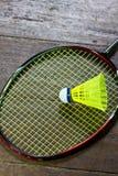 Badminton rackets Royalty Free Stock Photo