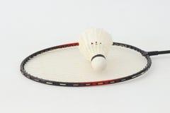 Badminton rackets. Stock Photos
