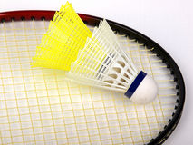 Badminton racquet Stock Photography