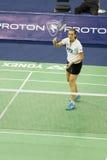 badminton rasmussen s przerzedże tine kobiety Zdjęcia Stock