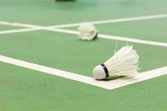 Badminton sąd Zdjęcia Stock