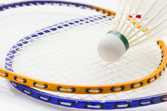 Badminton set Royalty Free Stock Images