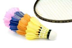 Badminton shutlecocks Royalty Free Stock Photos