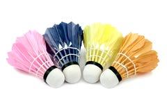 Badminton shutlecocks  on white background. Royalty Free Stock Photos