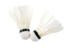Badminton-Shuttle Lizenzfreies Stockfoto