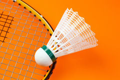 Badminton shuttlecock. The photo shot of badminton shuttlecock Royalty Free Stock Photo