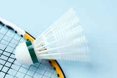 Badminton shuttlecock Royalty Free Stock Images