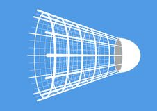 Badminton. Shuttlecock Stock Image