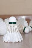 Badminton shuttlecock Lizenzfreie Stockbilder