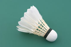Badminton shuttlecock Royalty Free Stock Image