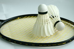 Badminton shuttlecock Royalty Free Stock Photography