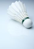 Badminton shuttlecock on white Stock Photography