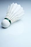 Badminton shuttlecock on white Royalty Free Stock Images