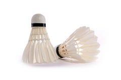 Badminton shuttlecocks stock image