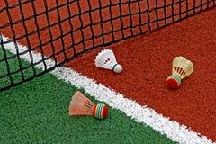 Badminton shuttlecocks-1 Arkivfoto