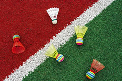 Badminton shuttlecocks-7 Image stock