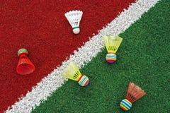 Badminton shuttlecocks-7 Stock Image