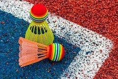 Badminton shuttlecocks-6 Royalty Free Stock Photo