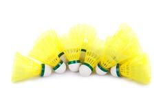 Badminton shuttlecocks Royalty Free Stock Image
