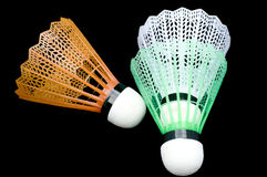 Badminton shuttlescocks Royalty Free Stock Photos