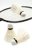 Badminton stuff Royalty Free Stock Images