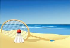 Badminton summer game Royalty Free Stock Photo