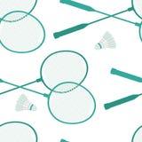 Badminton tło royalty ilustracja