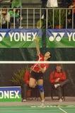 Badminton - Telma Santos POR Photographie stock libre de droits