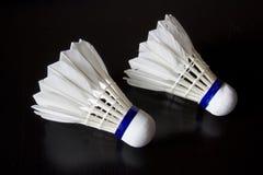 Badminton-Vögel Stockfotografie