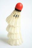 Badminton. On a white background Stock Photo