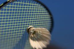 Badmintonauszug Lizenzfreie Stockfotografie