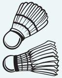 Badmintonbal Stock Foto