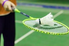 Badmintondomstol Royaltyfri Bild