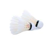 Badmintonfjäderboll Royaltyfri Fotografi