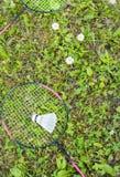badmintongyckel Royaltyfri Fotografi